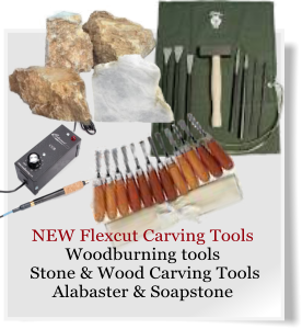 NEW Flexcut Carving Tools Woodburning tools  Stone & Wood Carving Tools Alabaster & Soapstone